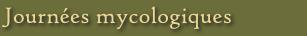 Journées mycologiques